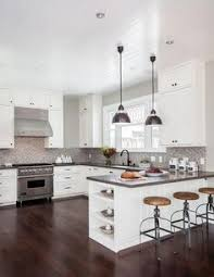 White Cabinets Dark Grey Countertops White Kitchen Cabinets Grey Countertops Google Search Kitchen
