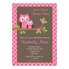 owl baby shower owl baby shower invitations announcements zazzle