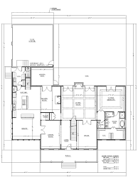 1 story house plans with large kitchen