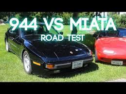 porsche 944 road test miata vs 944 road test