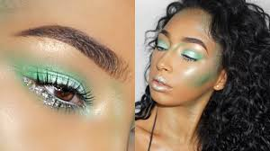 glowy glam mermaid halloween makeup tutorial lletitia online
