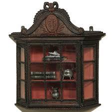 Curio Cabinets Pair Antique Vitrines And Bonnetieres Antique Furniture Inessa