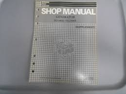 honda power equipment factory shop manual generator eg1400x