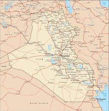 iraq map vector iraq vector maps