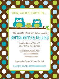 owl themed baby shower invitations reduxsquad com
