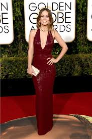 Red Carpet Gowns Sale by Wilde 73rd Annual Golden Globe Awards V Neck Red Carpet Dress For Sale