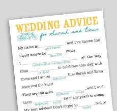 Wedding Mad Lib Template 93 Best Reception Activities Images On Pinterest Reception