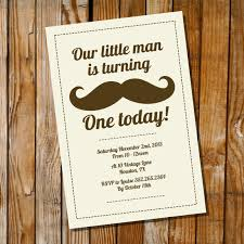 mustache birthday party u2013 invitation