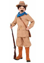 Halloween Costumes Girls Size 10 12 Boys Theodore Roosevelt Costume