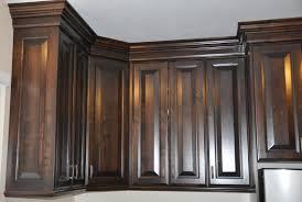 walnut stained kitchen cabinets kitchen