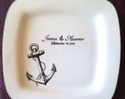 guest plate painted earthenware gifts for all by brushstrokeplates