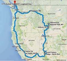 map us parks national parks tour before the snow falls retired and travelling