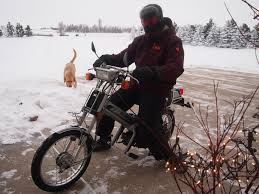 Honda Urban Happy Holidays R Moped The Roads Finally Cleared Up Enough To