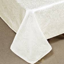 Table Linen Sizes - chelsea paisley table linens from waterford linens