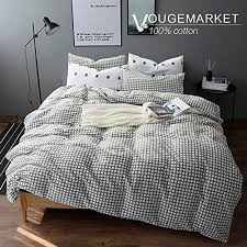 Geometric Duvet Cover Geometric Duvet Cover Amazon Com