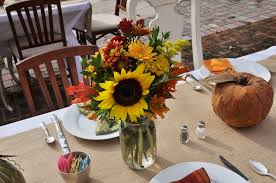 fall table arrangements fall shower flowers on table where do we find the time