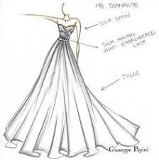 high fashion dress sketch google search disney drawings
