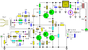 how to build pure class a headphone amplifier schematic circuit