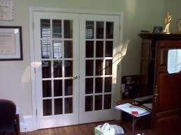 home design interior french doors opaque glass wainscoting