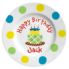 it s your special day plate personalized kids birthday plate painted ceramic