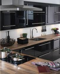 High Gloss Kitchen Cabinets by I Have These High Gloss Cabinets But Never Considered The Wood