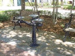 to make a birdbath water fountain