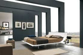 of the bedroom interior in the modern style