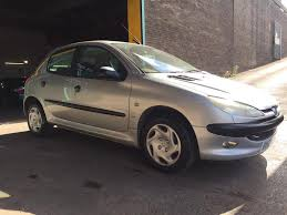 peugeot 2 door car peugeot 206 lx immaculate 5 door car with 13 months mot and