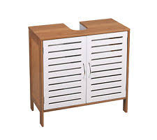 Undersink Cabinet Bamboo Bathroom Under Sink Cabinets Ebay