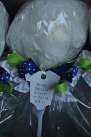 navy blue lime green and gray chevron ready to pop baby