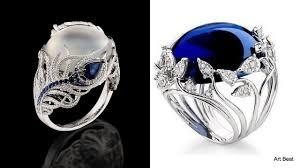vintage rings designs images Beautiful jewel rings designs vintage and antique engagement jpg