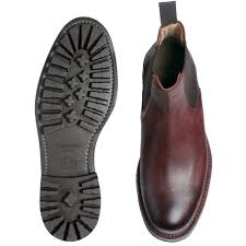cheaney ribble men u0027s burgundy leather chelsea boot made in england