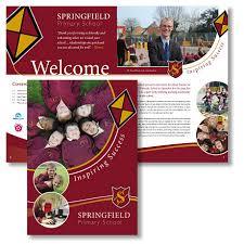 school brochure design templates school prospectus school prospectus design print