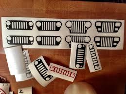 jeep cj grill logo bullygraphix jeep grills xj bullygraphix