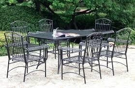 Wrought Iron Patio Chair Cushions Iron Patio Furniture Bikepool Co