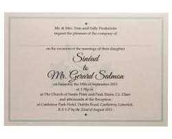 wedding invitations limerick top ten wedding invitation designs on silver pond
