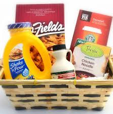 get well soon basket ideas sending to college students gourmet brunch gift basket get well