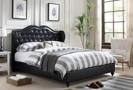 Platform Beds Queen - paradise black platform bed queen or king size