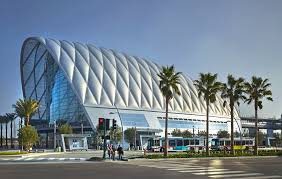 anaheim regional transportation intermodal center hok archdaily