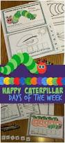hungry caterpillar days of the week free printable book
