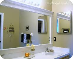bathroom trim ideas bathroom cabinets bathroom mirror trim ideas how to frame a