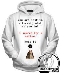 Hoodie Meme - jar jar binks d d nat 1 meme hoodie funny nerd hoodies star