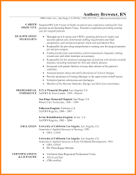 Basic Template For Resume 8 Exles Of Rn Resume Addressing Letter