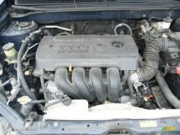 2005 toyota engine 2005 toyota matrix standard matrix model 1 8l dohc 16v vvt i 4