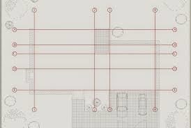 create a building how to create column grid of the building autocad architecture blog