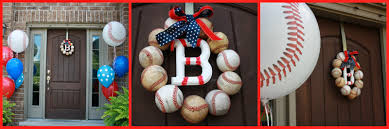baseball party baseball wreath tutorial mimi u0027s dollhouse