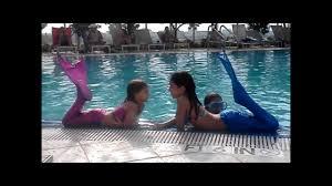 miami beach mermaids swimmable mermaid tails youtube