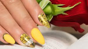 beauty and the beast nail art nails 21 youtube