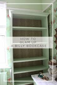 Bookshelf Makeover Ideas Dressing Room Mini Makeover My Ikea Billy Bookcase Hack Swoon