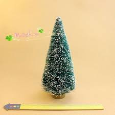 new 2016 dollhouse miniature artificial green tree model